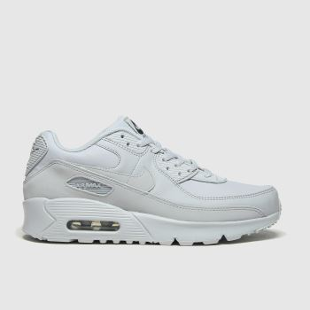 Nike Light Grey Air Max 90 Ltr Unisex Youth#