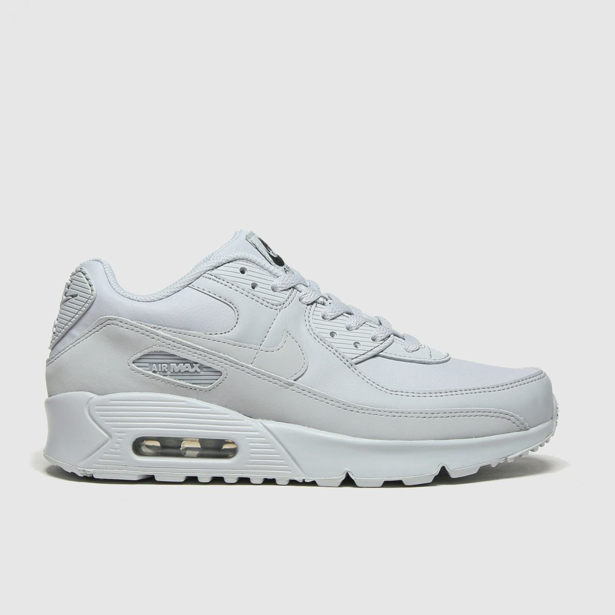 Nike Nike Light Grey Air Max 90 Ltr Trainers Youth
