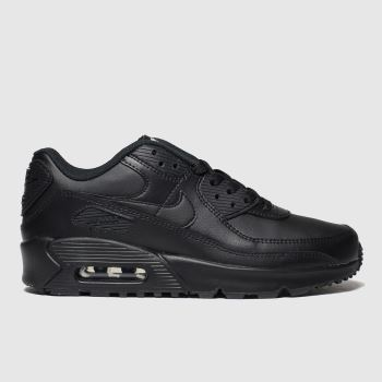 Nike Black Air Max 90 Ltr c2namevalue::Unisex Youth#promobundlepennant::£5 OFF BAGS