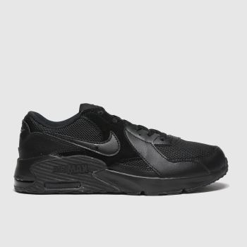 Nike Black Air Max Excee Unisex Youth