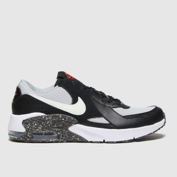 Nike Black & Grey Air Max Excee Unisex Youth