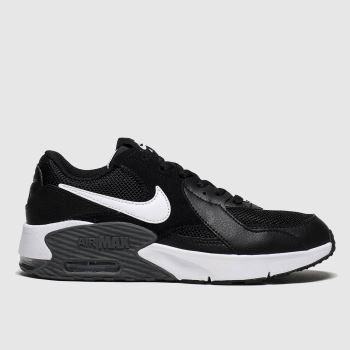 Nike Black & White Air Max Excee Unisex Youth#