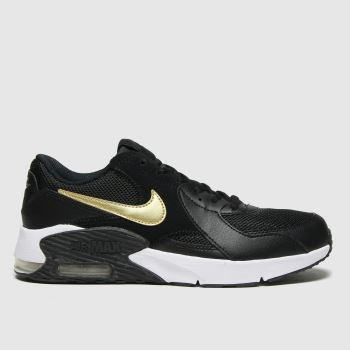 Nike Black & Gold Air Max Excee Unisex Youth