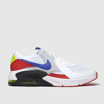 Nike White & Red Air Max Excee Unisex Youth