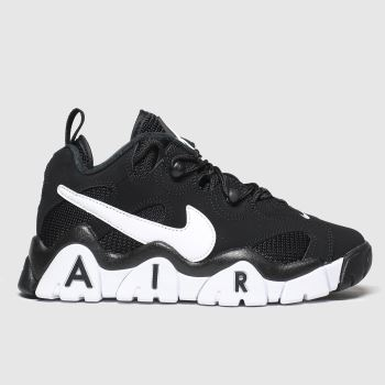 Nike Black & White Air Barrage Low c2namevalue::Unisex Youth