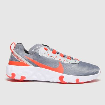 Nike Grey Renew Element 55 Unisex Youth