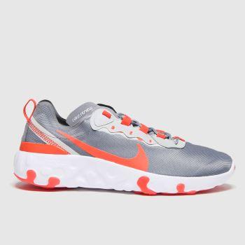 Nike Grau Renew Element 55 Unisex Jugendliche