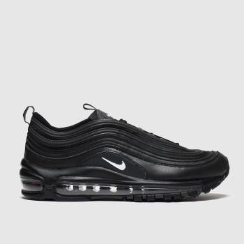 Nike Black & White Air Max 97 Unisex Youth#