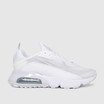 Nike White Air Max 2090 Unisex Youth
