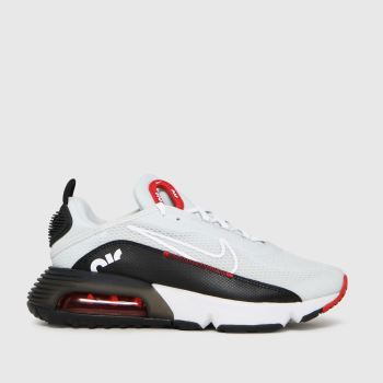 Nike White & Red Air Max 2090 Unisex Youth