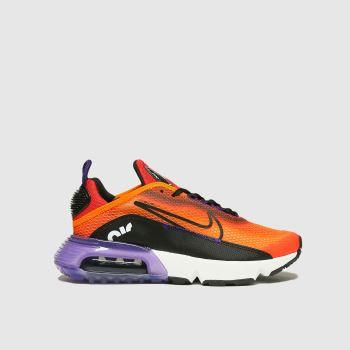 Nike Orange Air Max 2090 Unisex Youth#