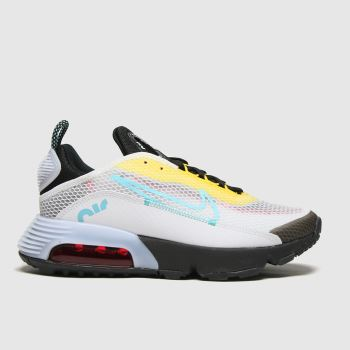 Nike White & Yellow Air Max 2090 Unisex Youth