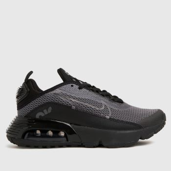 Nike Black & Grey Air Max 2090 Unisex Youth