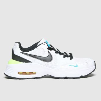 Nike White & Black Air Max Fusion Unisex Youth