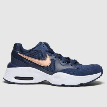 Nike Navy Air Max Fusion Unisex Youth