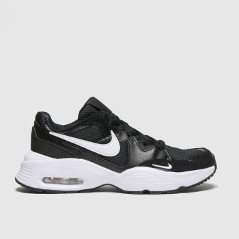 Nike Black & White Air Max Fusion Unisex Youth