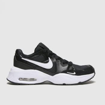 Nike Black & White Air Max Fusion Unisex Youth#