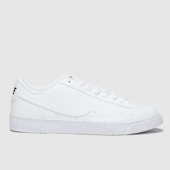 Nike White Blazer Low Unisex Youth