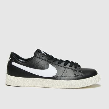 Nike Black & White Blazer Low Unisex Youth