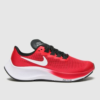 Nike Red Air Zoom Pegasus 37 Unisex Youth