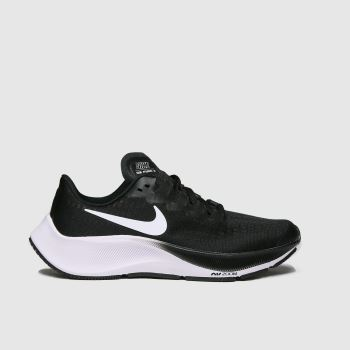 Nike Black & White Air Zoom Pegasus 37 Unisex Youth