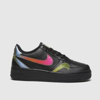 Nike Black Air Force 1 Lv8 2 Unisex Youth#