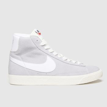 Nike Grey Blazer Mid Unisex Youth
