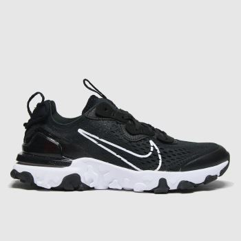 Nike Black & White React Vision Unisex Youth#