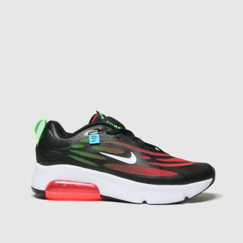 Nike Black & Red Air Max Exosense Se Unisex Youth