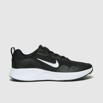 Nike Black & White Wearallday Unisex Youth