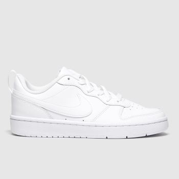 Nike Weiß Court Borough Low 2 Se Unisex Jugendliche