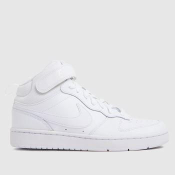 Nike White Court Borough Mid 2 Unisex Youth