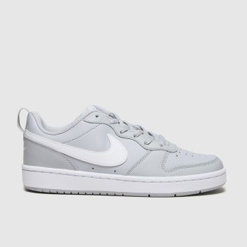 Nike Grey Court Borough Low 2 Unisex Youth