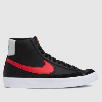 Nike Black Blazer Mid 77 Se Unisex Youth