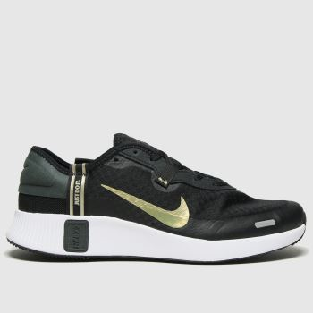 Nike Black & Gold Reposto Unisex Youth