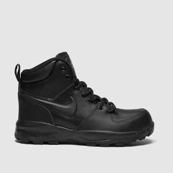 Nike Black Manoa Ltr Unisex Youth