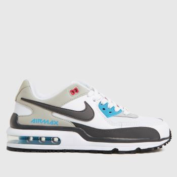 Nike White & grey Air Max Wright Unisex Youth