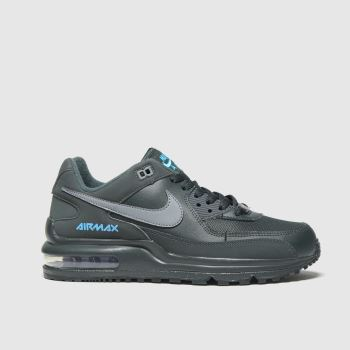 Nike Black and blue Air Max Wright Unisex Youth#