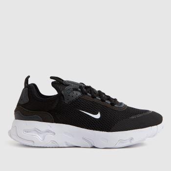 Nike Black & Grey React Live Unisex Youth