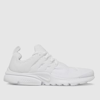 Nike White Presto Unisex Youth