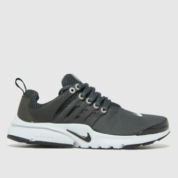 Nike Grey & Black Presto Unisex Youth