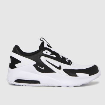 Nike White & Black Air Max Bolt Unisex Youth