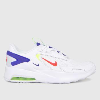 Nike White & Navy Air Max Bolt Unisex Youth