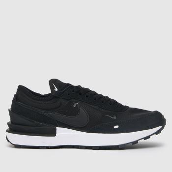 Nike Black & White Waffle One Unisex Youth