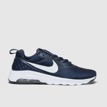 Nike Navy & White Air Max Motion Lw Unisex Youth#