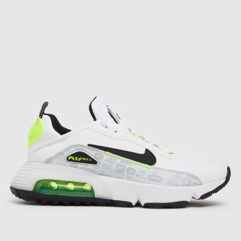 Nike White & Green Air Max 2090 C/s Unisex Youth