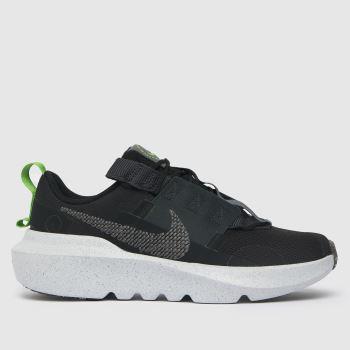 Nike Black & Grey Crater Impact Unisex Youth