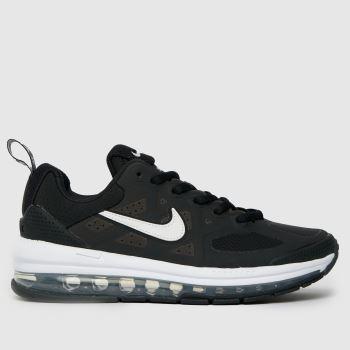 Nike Black & White Air Max Genome Se Unisex Youth