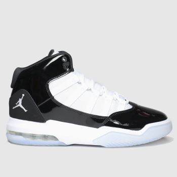 Nike Jordan White & Black Max Aura c2namevalue::Unisex Youth