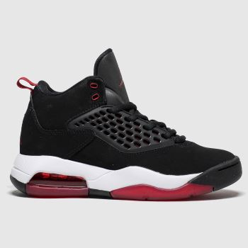 Nike Jordan Black & Red Jordan Maxin 200 Unisex Youth